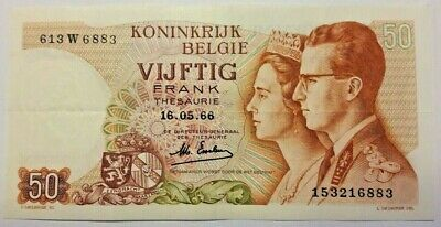 50 Francs Frank 1966 Choose Signature & Condition Belgique Belgïe Belgium