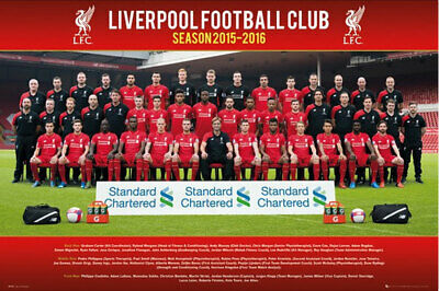 Liverpool FC - Team Photo 15/16 POSTER 61x91cm NEW