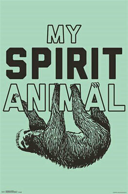 Snorg Tees - Spirit Animal POSTER 57x86cm NEW