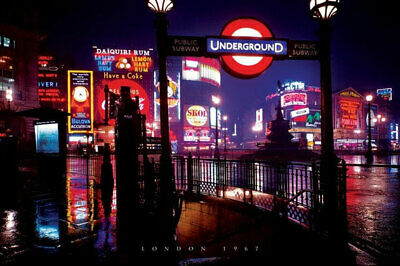 London - Night POSTER 61x91cm NEW