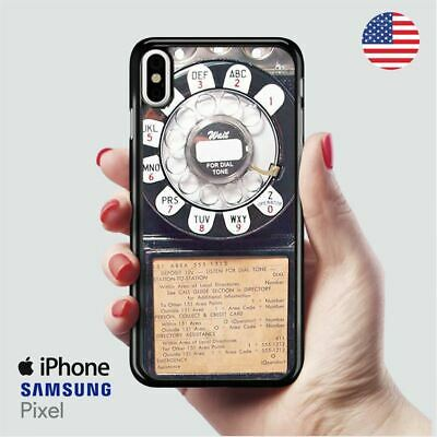 Genuine Us Western Electric Payphone iPhone X Samsung S10 Pixel Case