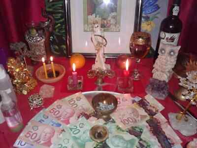 Fortune Goddess wicca spell, success, prosperity wealth and good luck by a Witch