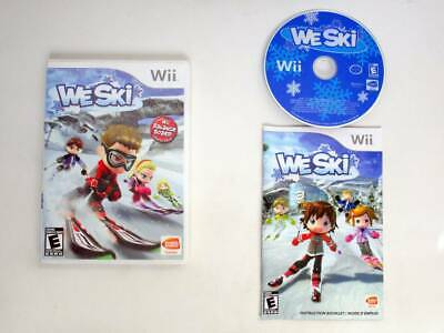 We Ski game for Nintendo Wii -Complete