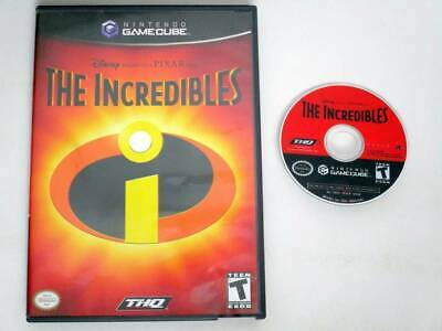 The Incredibles game for Nintendo GameCube -Game & Case