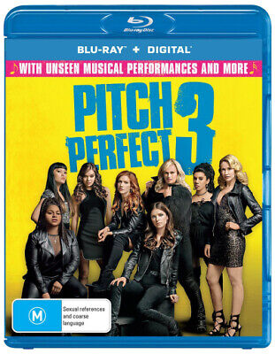 Pitch Perfect 3 (Blu-Ray/Digital Copy) (2017) [New Bluray]