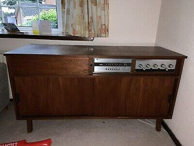Leak Retro Record Player Cabinet 22 00 Picclick Uk