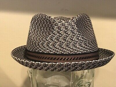 "d05555da8 NEW BAILEY OF Hollywood ""MANNES"" Men's Braided FEDORA TRILBY Hat ..."