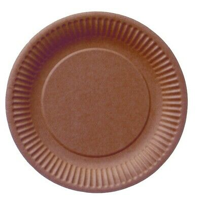 Bio Paper Plate round 23cm Coated Preserve Cake Catering Takeaway Plate Bowl