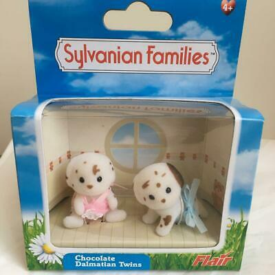 SYLVANIAN FAMILIES Chocolate Dalmatian Twin Baby Plush CALICO CRITTERS Epoch