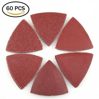 Triangle Sanding Paper Hook and Loop Assorted Sandpaper Oscillating Multi-tool