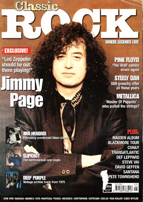 CLASSIC ROCK MAGAZINE Summer 2019 (+Cd, Floyd Book, Kiss 148 Page