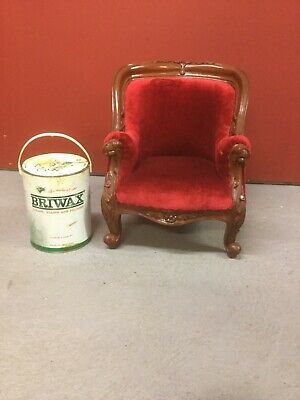Victorian Style Childs Tub Shaped Chair Sn-813a