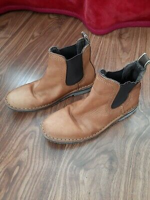 Kids Next tan/brown Chelsea boots size 12 Smart Country Wear