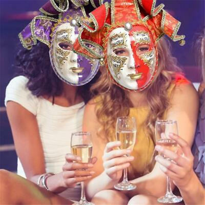 Party Mask Dancing Performance Costume Face Props Party Masks Full Retro New