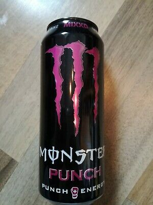 1 Volle Energy drink Dose Monster Mixxd Punch Can Coca Cola FULL NLBe 1216