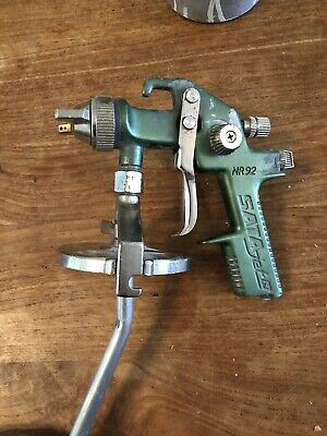 Satajet NR92 spraygun 2NI with cup, excellent condition, ultrasonic clean