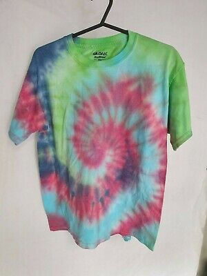 Tie Dyed, Size Youth Large, Tee T Shirt, Vintage Usa Import