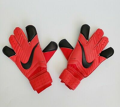 NEW Nike GK Vapor Grip 3 Goalkeeper Soccer Gloves Adult Sz 6 Promo Red Black