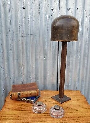 Antique Hat Wig Stand Display