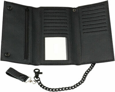 Z1R Synthetic Leather Wallet (Black) Long
