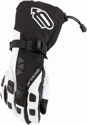 Arctiva 2020 QUEST Lightly Insulated Gloves (Black/White) Choose Size