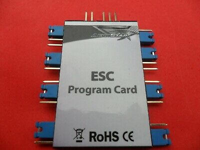 AEROSTAR ELECTRONIC SPEED Controller Programming Card Esc - £7 39