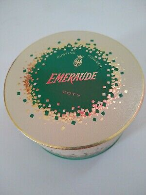 Emeraude Dusting Powder by Coty 5.25 oz. Vintage Scent Perfume Collectible NEW