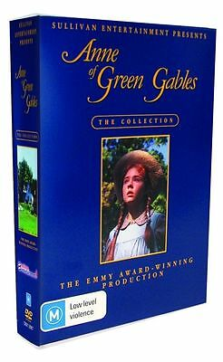 Anne of green gables collection Trilogy DVD 3 Disc Set New & Sealed Australian