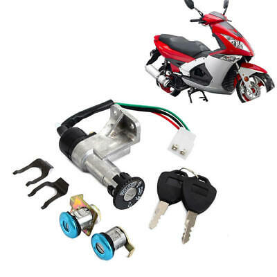 IGNITION KEY SWITCH Set 4 Wire 150cc GY6 Moped Scooter
