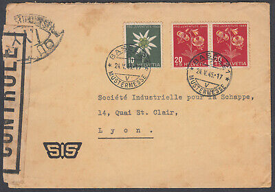 SWITZERLAND #Z156 BASEL to France, 1921 - EUR 4,07 | PicClick BE
