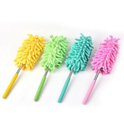 Dust Shan Washing Duster Reusable Soft Home Adjustable Chenille Useful
