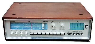 Vintage Supersonic One-Eleven Solid State Stereo Receiver Amplifier
