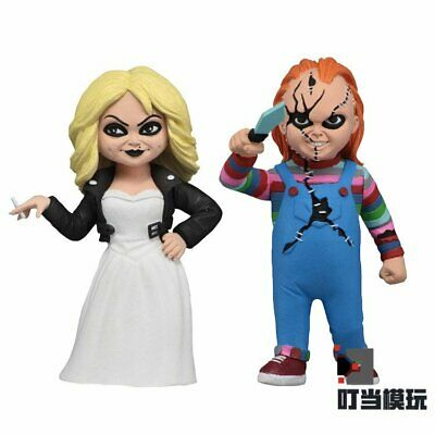 "Neca Toony Terrors 6"" AF Bride of Chucky 2 Pack Action Figure"