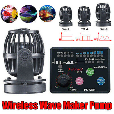 Jebao Marine SW-2 SW-4 SW-8 SW-15 Wireless Wave Maker Aquarium Pump Reef Tank AU