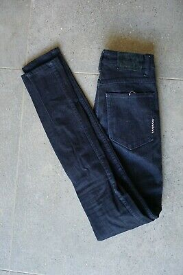 "NEUW DENIM WOMENS MARILYN HIGH SKINNY SNAIL BROWN STRETCH JEANS 26/"" X 32/"" UK 8 R"