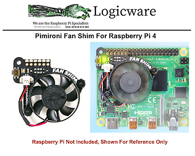 Cooling Fan Shim For  Raspberry Pi 4  and PI 3B / B+ from Pimoroni