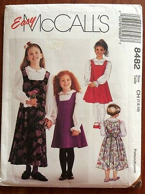 OOP McCALLS 7812 Fit /& Flared Jumpers~2 lengths PATTERN 8-10-12-14//18-20-22 UC