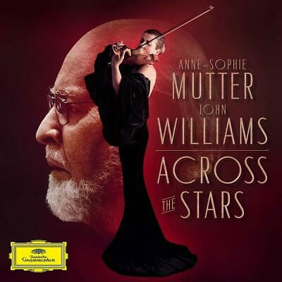 Anne-Sophie Mutter Recording Arts Orch of L A Williams ACROSS THE STARS CD 28AUG