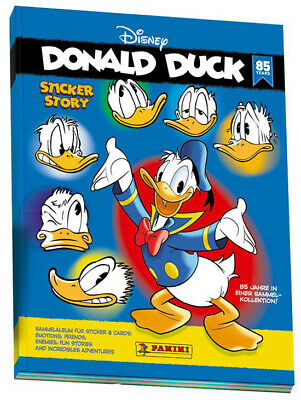 Panini Disney - 85 Jahre Donald Duck - Sammelsticker - 1 Album