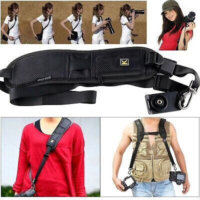 SLR DSLR Quick Sling Camera Single Shoulder Belt Strap Cameras Canon Sony Nikon