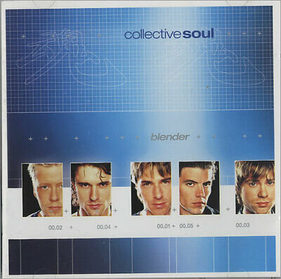 Collective Soul Blender German CD album (CDLP) 7567-83400-2 ATLANTIC