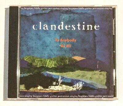 CLANDESTINE - To Anybody At All - CD