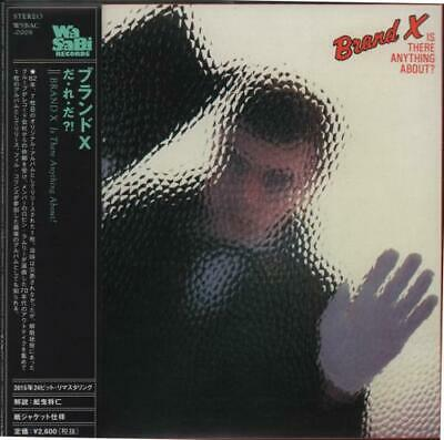 Brand X Is There Anything About? Japanese CD album (CDLP) WSBAC-0008