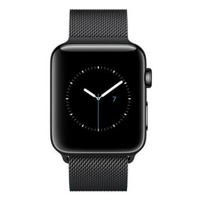 Apple Watch Series 2 42mm Smartwatch (Space Black Stainless Steel Case, Space Bl