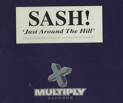 "Sash! Just Around The Hill - CD2 UK CD single (CD5 / 5"") CXMULTY62"
