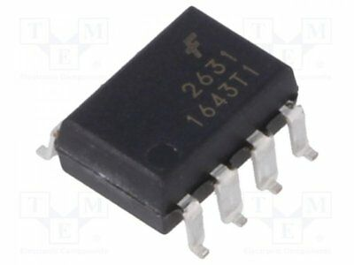 HCPL2631S - 1pcs Optocoupler; SMD; Channels:2; Out: logic; 2.5kV; 10Mbps; ...