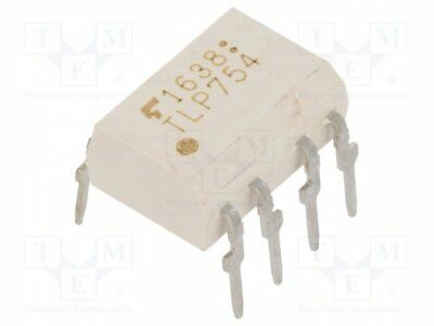 TLP754F - 1pcs Optocoupler; THT; Channels:1; Out: logic; 5kV; DIP8