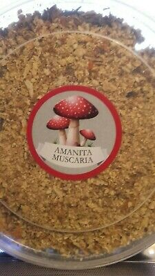 Amanita 30 gr-gifts of the forest decoration  powder