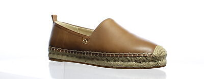 903e8c2be1eaf SAM EDELMAN WOMENS Khloe Latte Leather Espadrilles Size 8 (362609)