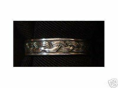 LOOK Sterling Silver CELTIC KNOT Ring Wicca Jewelry
